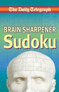 Book cover for The Daily Teegraph Brain Sharpener...